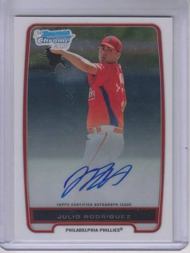 Photo of 2012 Bowman Chrome Prospect Autographs #BCP101 Julio Rodriguez