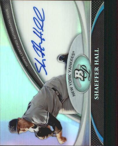 Photo of 2011 Bowman Platinum Prospect Autograph Refractors #SH Shaeffer Hall