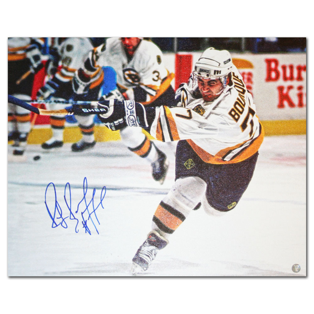 Ray Bourque Autographed Boston Bruins 16X20 Canvas