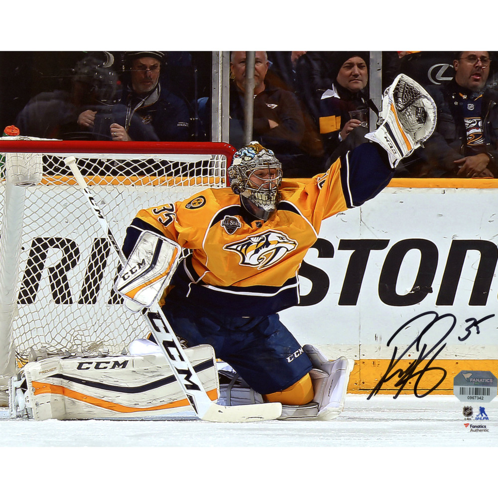 Pekka Rinne Nashville Predators Autographed 8