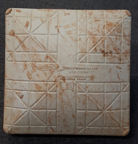 Photo of Authenticated Game Used Base - 2nd Base for Innings 7-9: Josh Donaldson's 3 HR Game on Canada Baseball Day (Aug 28, 2016 vs MIN)