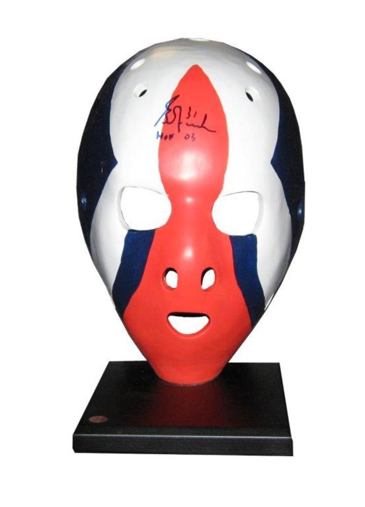 Grant Fuhr - Signed Edmonton Oilers Replica Mask