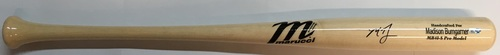Photo of Madison Bumgarner Autographed Game Model Marucci Bat