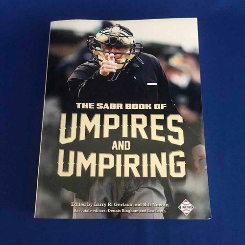 Photo of UMPS CARE AUCTION: SABR Book of Umpires and Umpiring