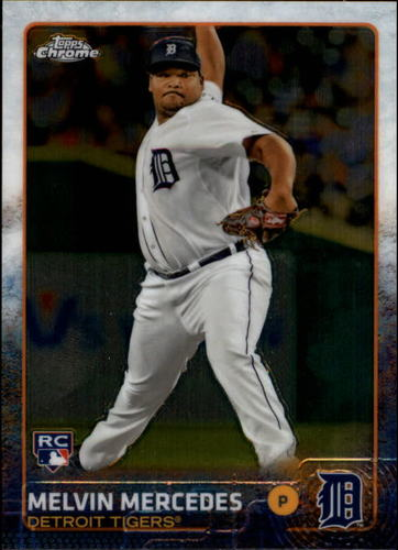 Photo of 2015 Topps Chrome #71 Melvin Mercedes RC