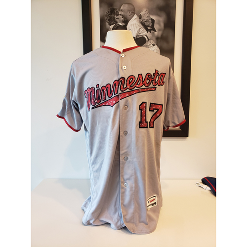 Photo of 2018 Jose Berrios Stars and Stripes Game-Used Jersey