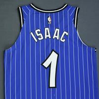 Jonathan Isaac - Orlando Magic - Game-Worn Classic Edition 1994-98 Alternate Road Jersey - Worn in 3 Games - 2018-19 Season