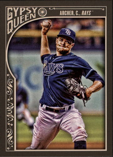 Photo of 2015 Topps Gypsy Queen #185 Chris Archer