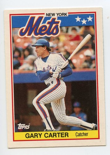 Photo of 1988 Topps UK Minis #11 Gary Carter