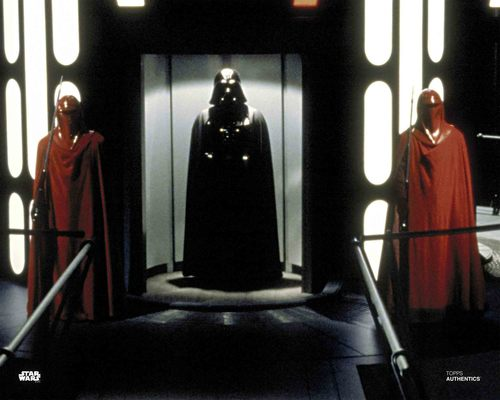 Darth Vader and Imperial Royal Guards
