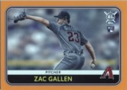 Photo of 2020 Topps Big League Orange #229 Zac Gallen