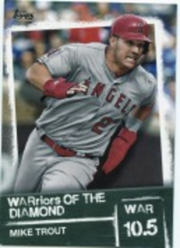 Photo of 2020 Topps Warriors of the Diamond #WOD19 Mike Trout