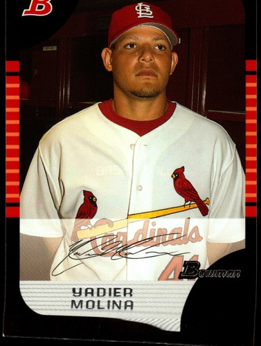 Photo of 2005 Bowman Draft #17 Yadier Molina