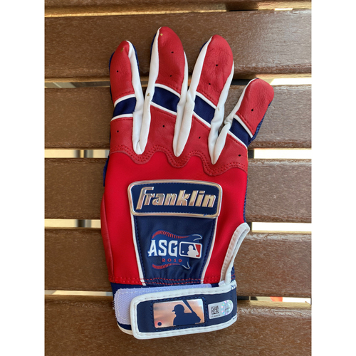Ronald Acuna Jr. MLB Authenticated All-Star Issued Autographed Batting Gloves (2019 All Star Game)
