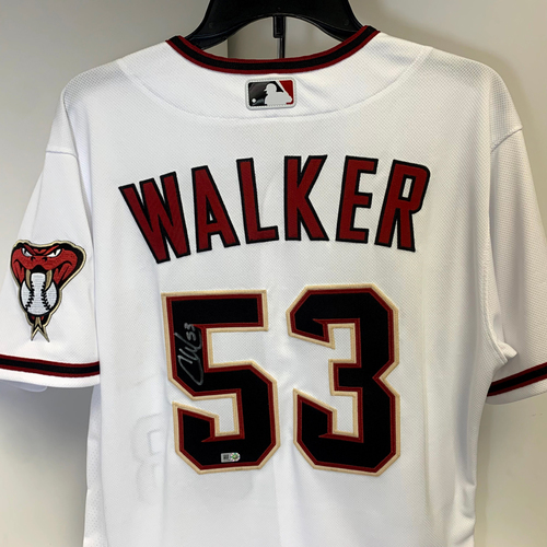 Photo of Christian Walker Autographed Jersey