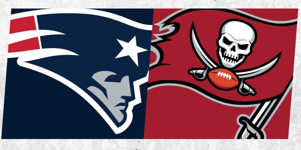 Buccaneers @ Patriots Week 4 Ticket Package (2 Tickets To Game In New England On 10/03/21 + Tom Brady autographed football) Tickets Are Located In Section 306 Row 15