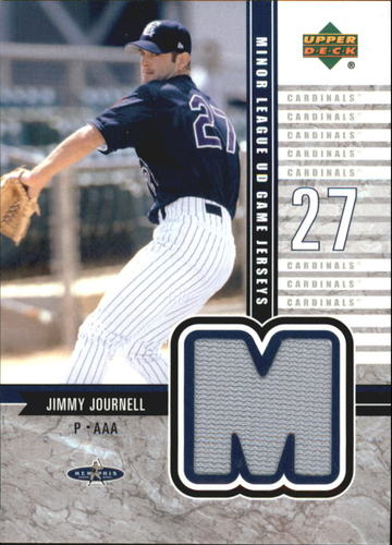Photo of 2002 UD Minor League Game Jerseys #JJJ Jimmy Journell