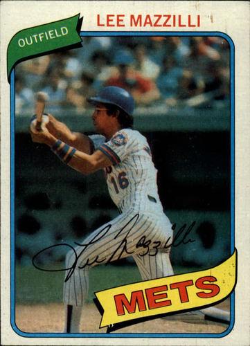 Photo of 1980 Topps #25 Lee Mazzilli
