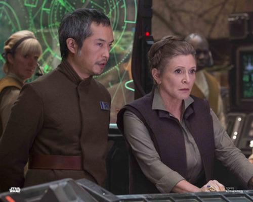 Admiral Statura and General Leia Organa