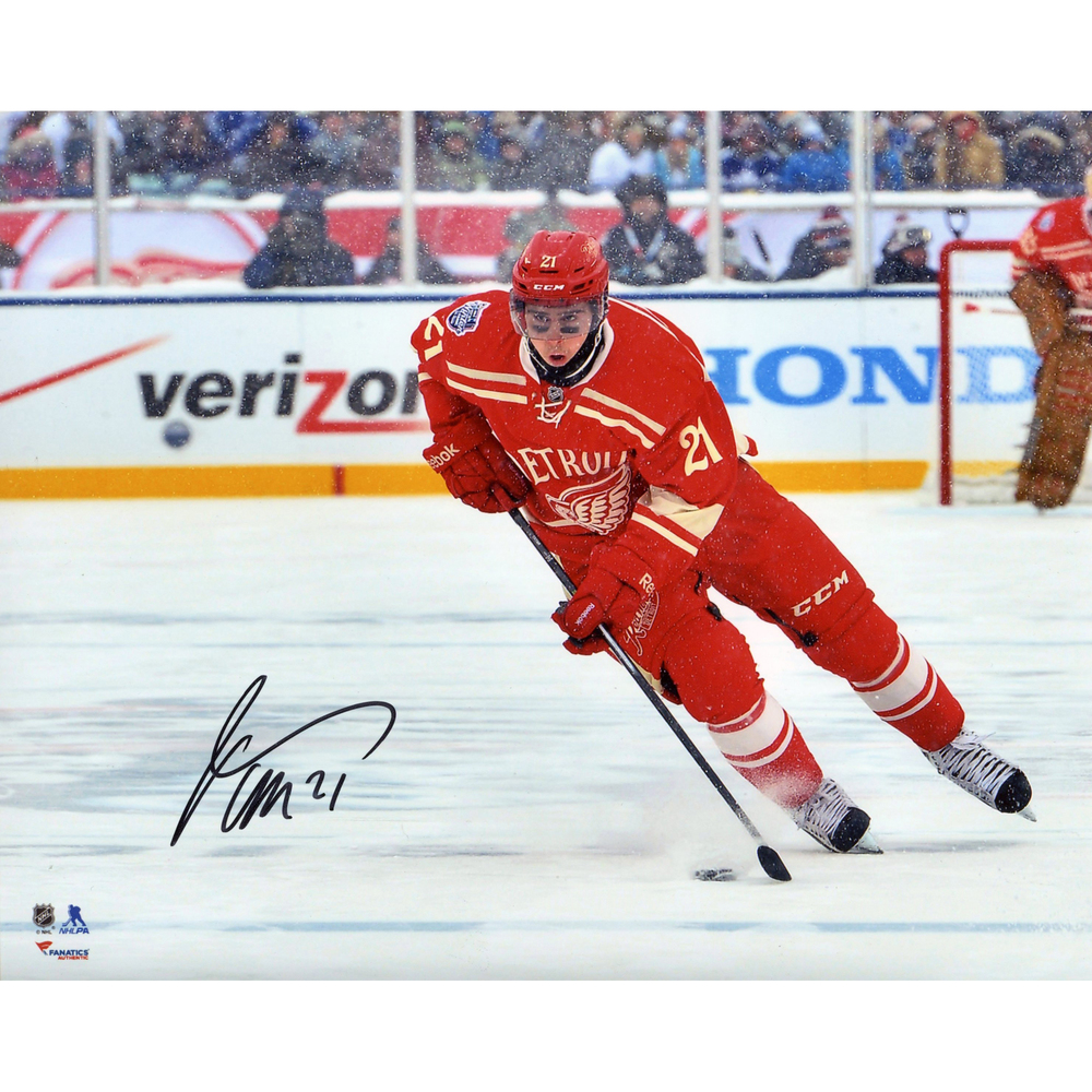 c343ba074 Tomas Tatar Detroit Red Wings Autographed 8