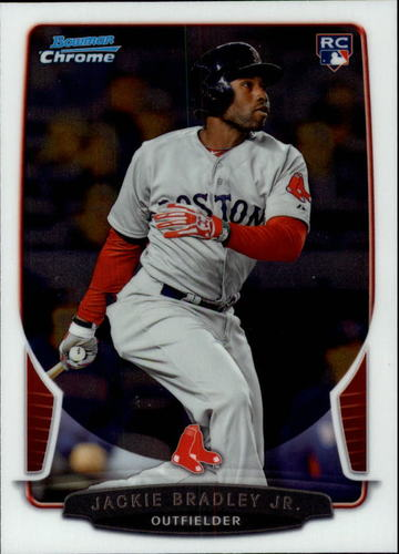 Photo of 2013 Bowman Chrome Draft #43 Jackie Bradley Jr. Rookie Card