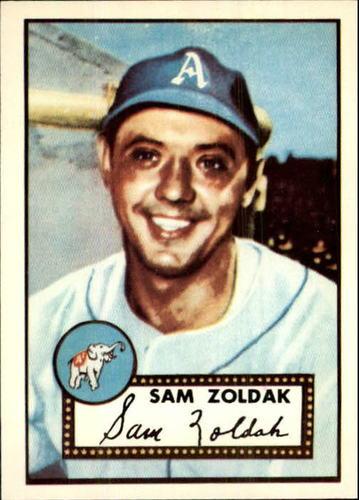 Photo of 1983 Topps 1952 Reprint #231 Sam Zoldak