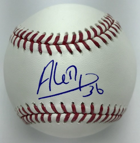 Photo of Aledmys Diaz Autographed Baseball