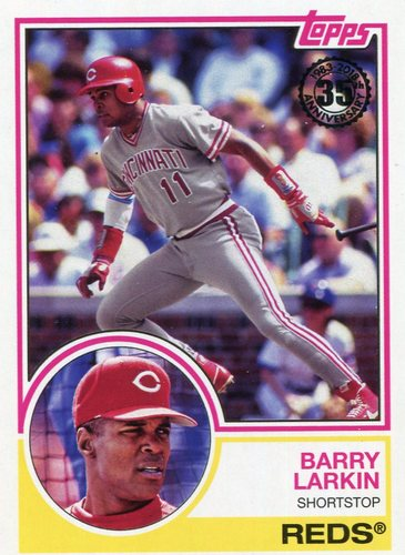 Photo of 2018 Topps '83 Topps #8357 Barry Larkin