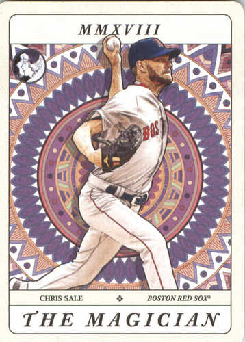 Photo of 2018 Topps Gypsy Queen Tarot of the Diamond #TOD4 Chris Sale