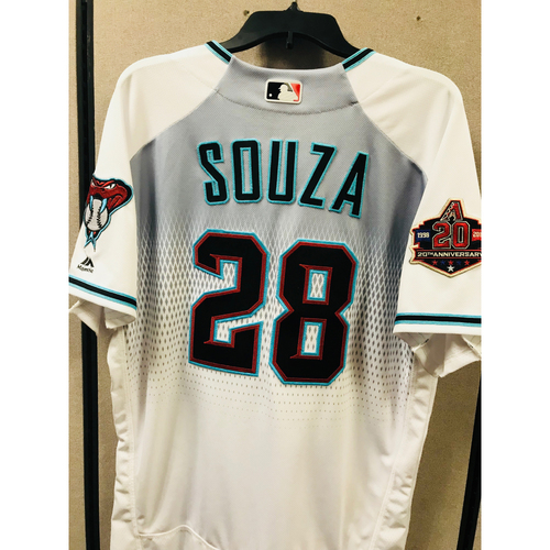 Photo of Steven Souza Jr. Game-Used Jersey - 8/21/18
