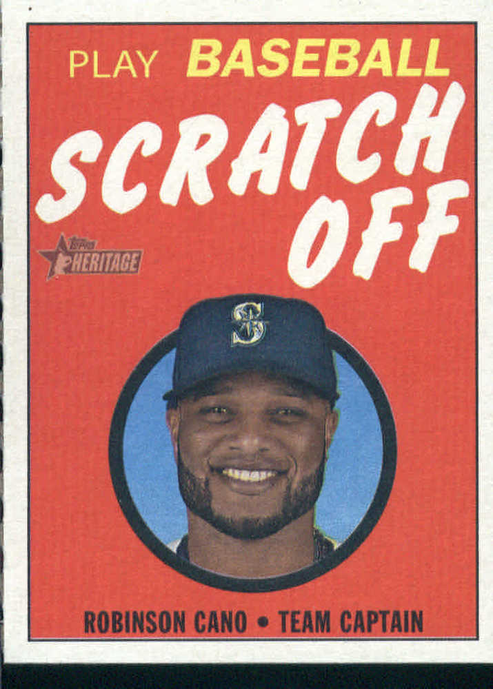 2019 Topps Heritage '70 Topps Scratch Offs #13 Robinson Cano