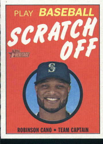 Photo of 2019 Topps Heritage '70 Topps Scratch Offs #13 Robinson Cano