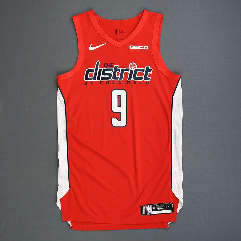 online retailer 7c153 fa168 Chasson Randle - Washington Wizards - Game-Worn Earned ...