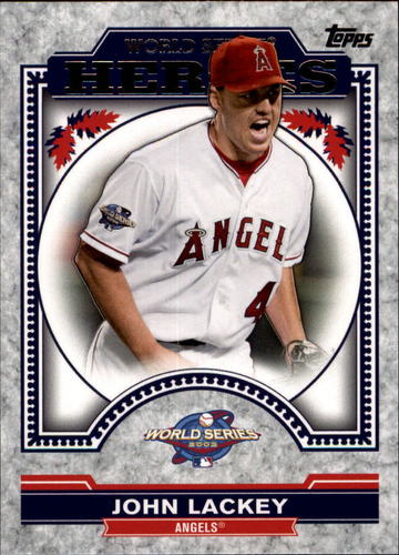 Photo of 2014 Topps Update World Series Heroes #WSHJL John Lackey