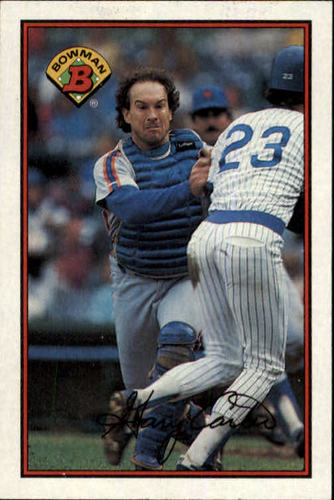 Photo of 1989 Bowman #379 Gary Carter