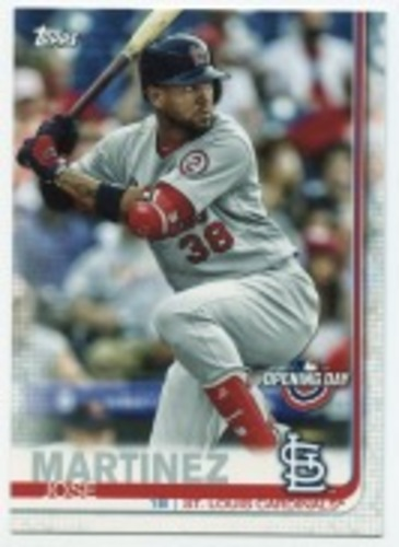 Photo of 2019 Topps Opening Day #108 Jose Martinez