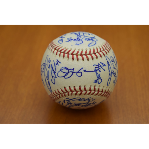 Photo of 2010 Detroit Tigers Team Signed Baseball (MLB Authenticated)