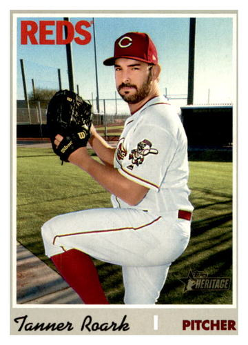 Photo of 2019 Topps Heritage #645 Tanner Roark