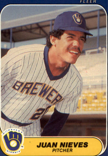 Photo of 1986 Fleer Update #83 Juan Nieves
