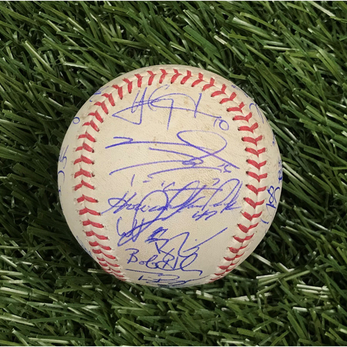 Photo of Win #5: 4/9/2019 Game-Used Baseball