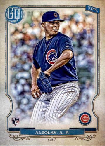 Photo of 2020 Topps Gypsy Queen #34 Adbert Alzolay RC