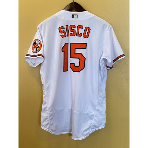Photo of Chance Sisco - Opening Day Home Jersey - Game-Used