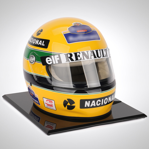 Photo of Ayrton Senna 1994 1:1 Replica Helmet
