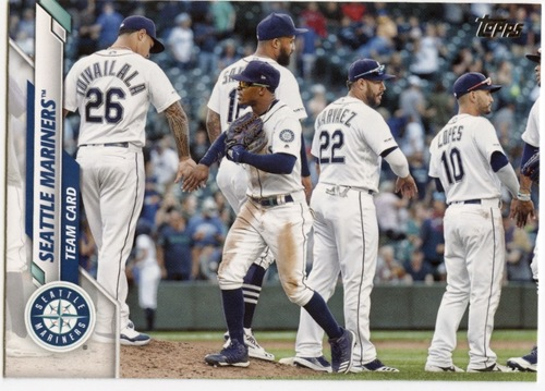 Photo of 2020 Topps #566 Seattle Mariners TC