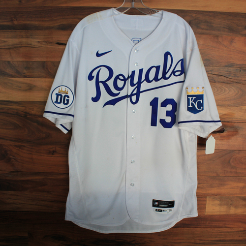 Photo of Game-Used 2020 Jersey: Salvador Perez #13 (DET @ KC 9/27/20) - Size 48