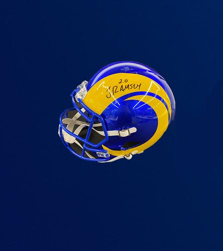 Photo of Jalen Ramsey Signed Replica Helmet