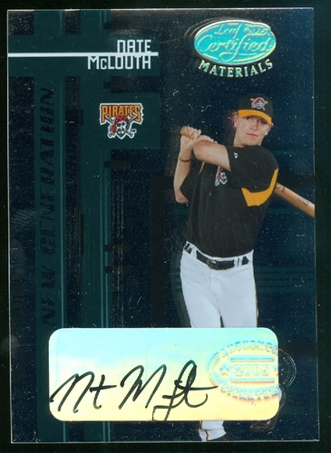 Photo of 2005 Leaf Certified Materials #229 Nate McLouth NG AU RC