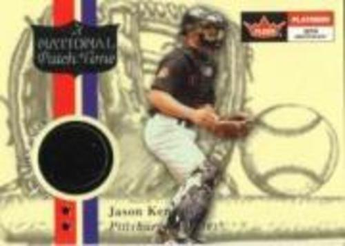 Photo of 2001 Fleer Platinum National Patch Time #30 Jason Kendall S1