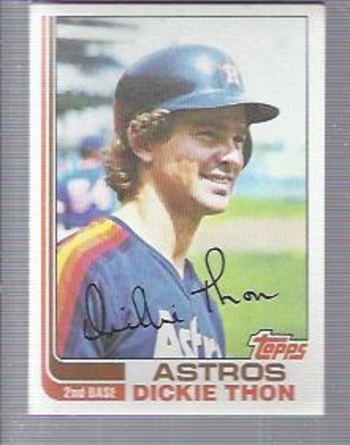 Photo of 1982 Topps #404 Dickie Thon