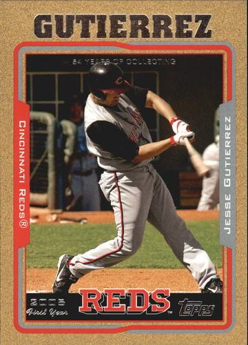 Photo of 2005 Topps Update Gold #277 Jesse Gutierrez FY
